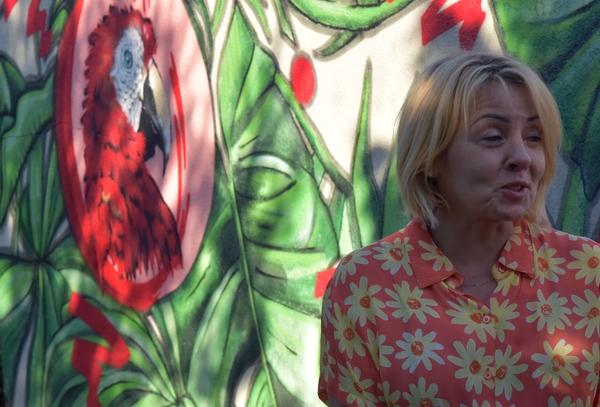 6viii2020  sasiedzi zielona laweczka i moja bo, zdjęcie 4/6