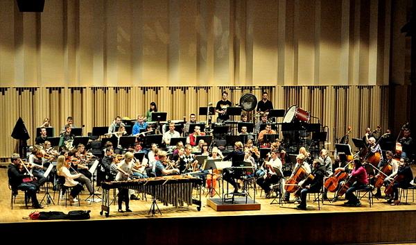 jutro zagra przesliczna marimbafonistka, zdjęcie 1/19