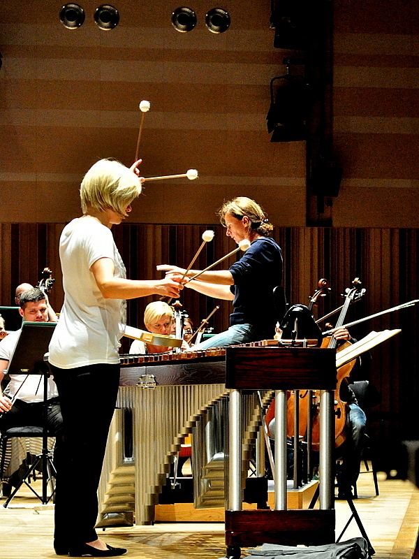 jutro zagra przesliczna marimbafonistka, zdjęcie 4/19