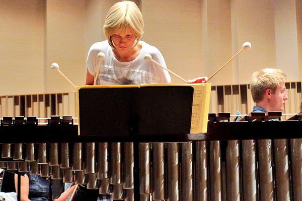 jutro zagra przesliczna marimbafonistka, zdjęcie 16/19