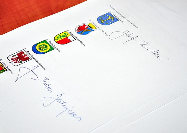 podpisali stanowisko w sprawie trasy rowerowej eur, zdjęcie 2/5