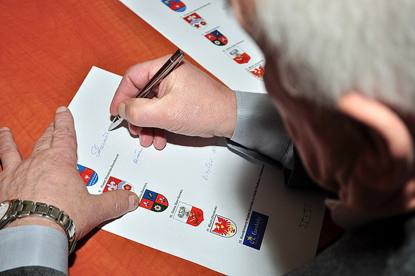 podpisali stanowisko w sprawie trasy rowerowej eur, zdjęcie 4/5