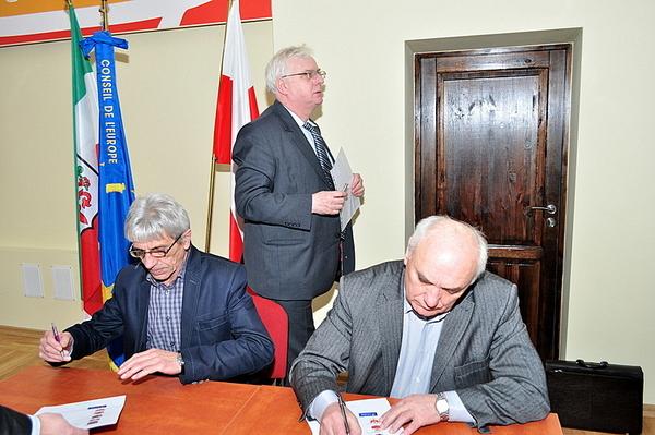podpisali stanowisko w sprawie trasy rowerowej eur, zdjęcie 5/5