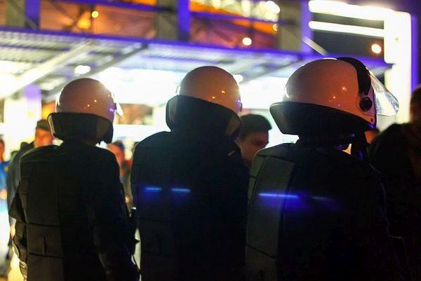 policja po wygranym meczu stali z falubazem  dwie, zdjęcie 19/30