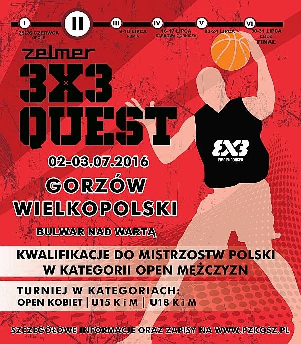 mistrzostwa polski w koszykowce 3x3 , zdjęcie 1/2