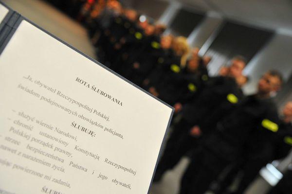 od nowego roku w policyjnym mundurze, zdjęcie 1/30