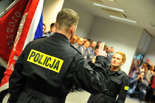 od nowego roku w policyjnym mundurze, zdjęcie 10/30