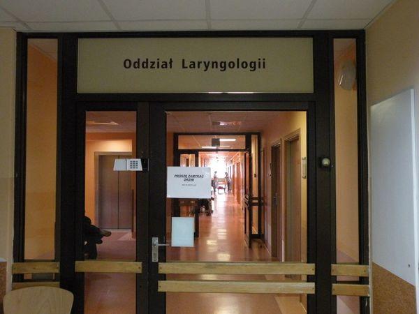 wizytacja na oddziale laryngologii, zdjęcie 6/6