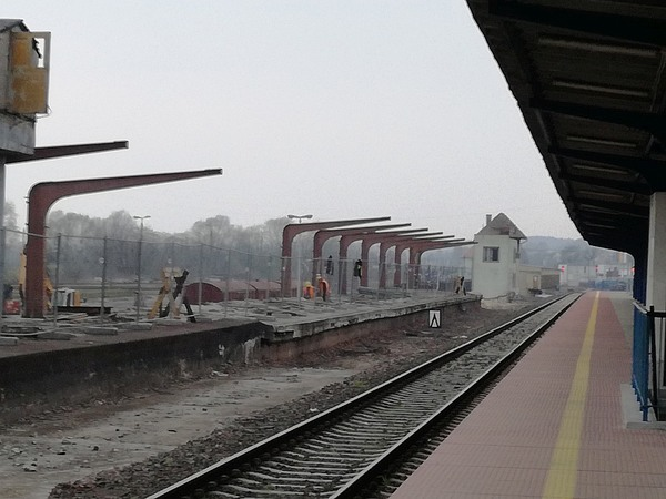 dziwna trasa z dworca do przystanku gorzow wscho, zdjęcie 2/17