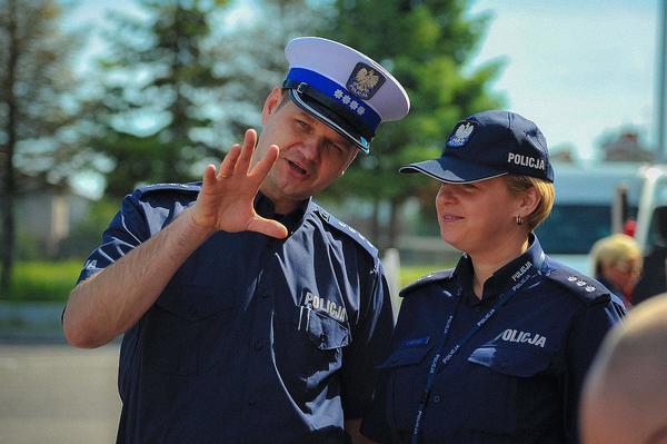 policja uczy dzieci jak bezpiecznie wypoczywac , zdjęcie 9/30