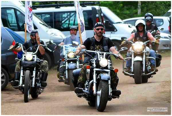 woodstockowa parada motocyklistow, zdjęcie 1/15