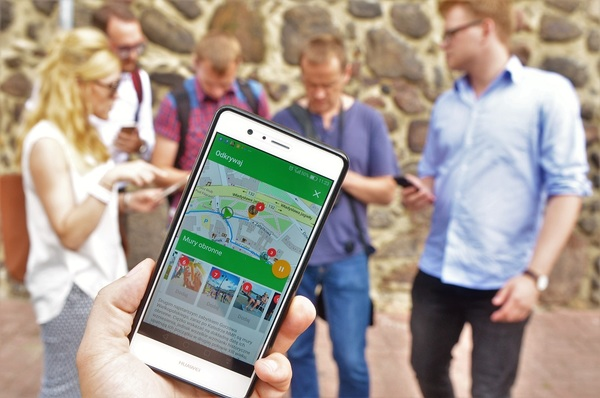 footsteps  aplikacja z informacjami o gorzowie, zdjęcie 2/6