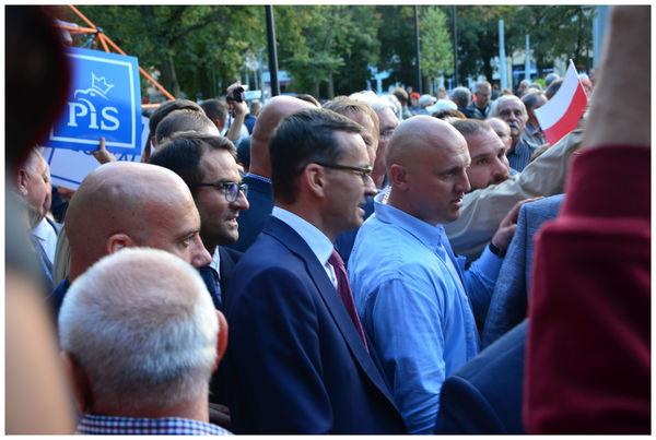 mnostwo ochrony i zadyma  wizyta premiera morawi, zdjęcie 29/35