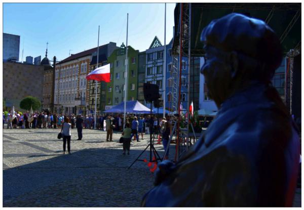 pierwsze obchody gorzowskich wydarzen sierpniowyc, zdjęcie 10/14